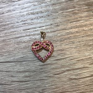 Jewelry - Ruby heart pendant